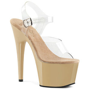 Stiletto High Heels Platform Ankle Strap Shoes